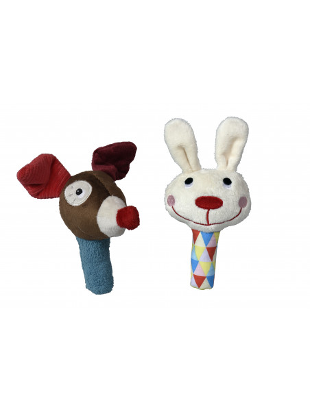 Maracas Magic Circus Gustave le Clown et Ernesto le Lapin