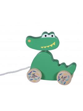 Rouleur Bois Crocodile Collection Jungle Boogie