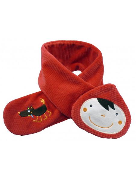 echarpe chaperon rouge