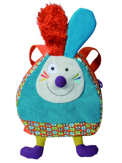 sac à dos Jeff le lapin