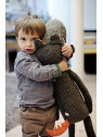 T'es Fou Louloup Super Large Doll Wolf 1 m Long